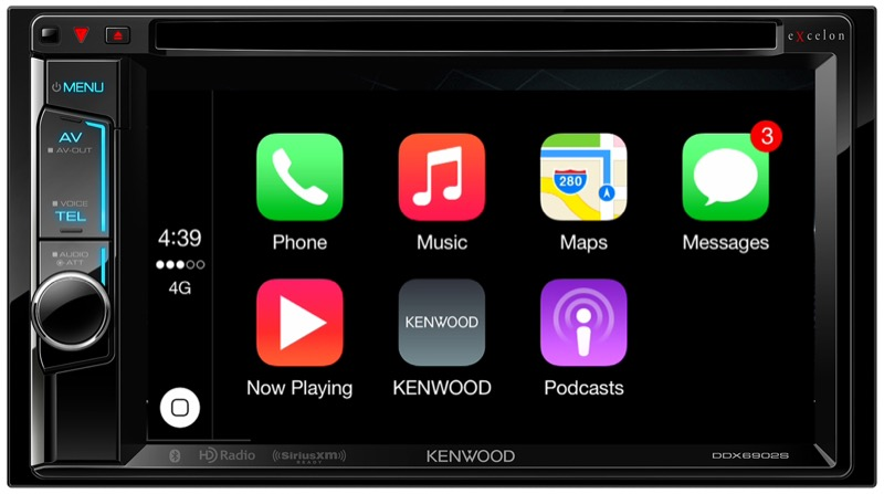 Kenwood Radios Featuring Apple CarPlay Available NOW at Audio Garage