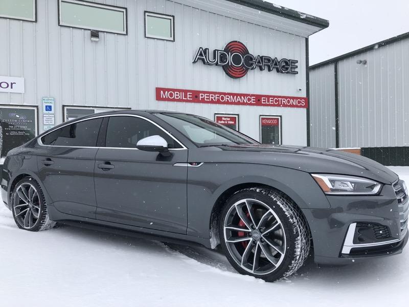 Car Paint Detector >> Audi S5 Sportback Window Tint for Fargo Client