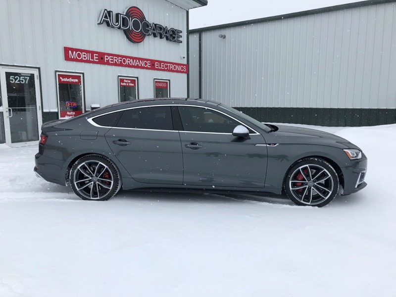 Grand Forks Client adds Audi S5 Sportback Window Tinting