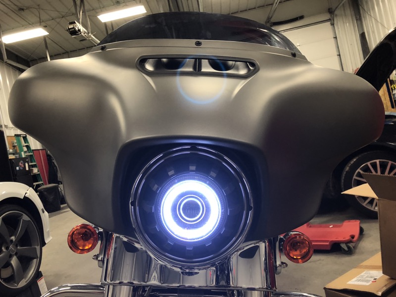 Audio Garage Harley-Davidson Street Glide Audio Demo Bike