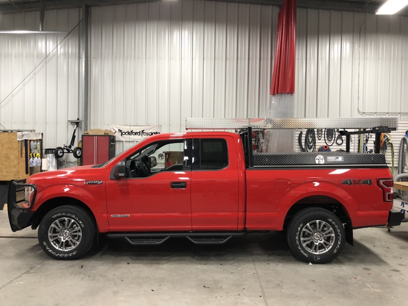 Ford F-150 Truck Accessories for Fargo Work Truck