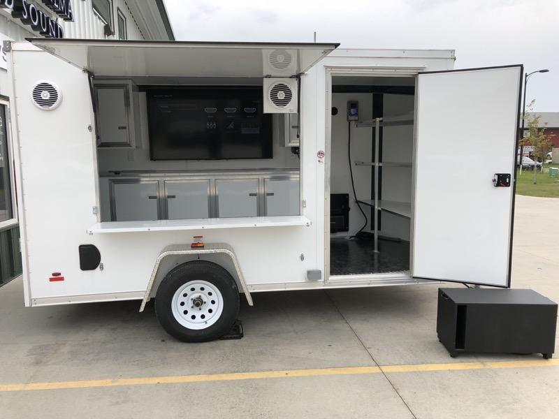 Custom Tailgating Trailer Audio Upgrade for Fargo Client