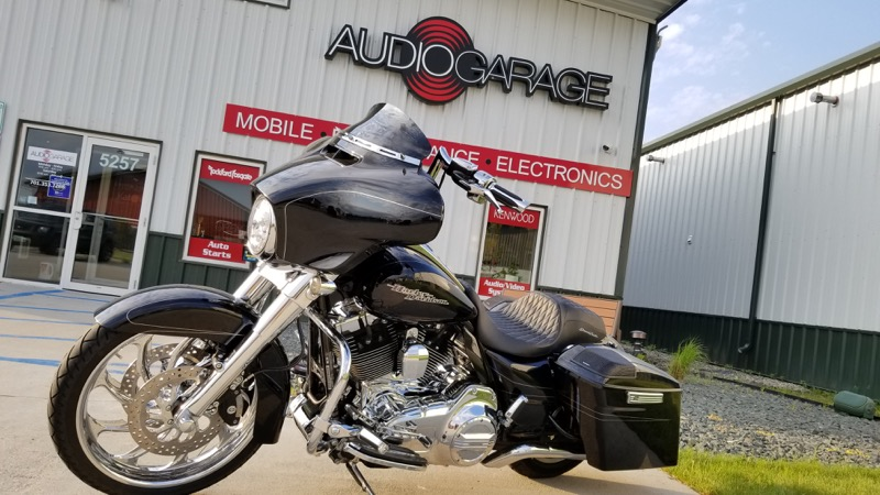Audio Upgrade and Lighting for Fargo Harley-Davidson Street Glide