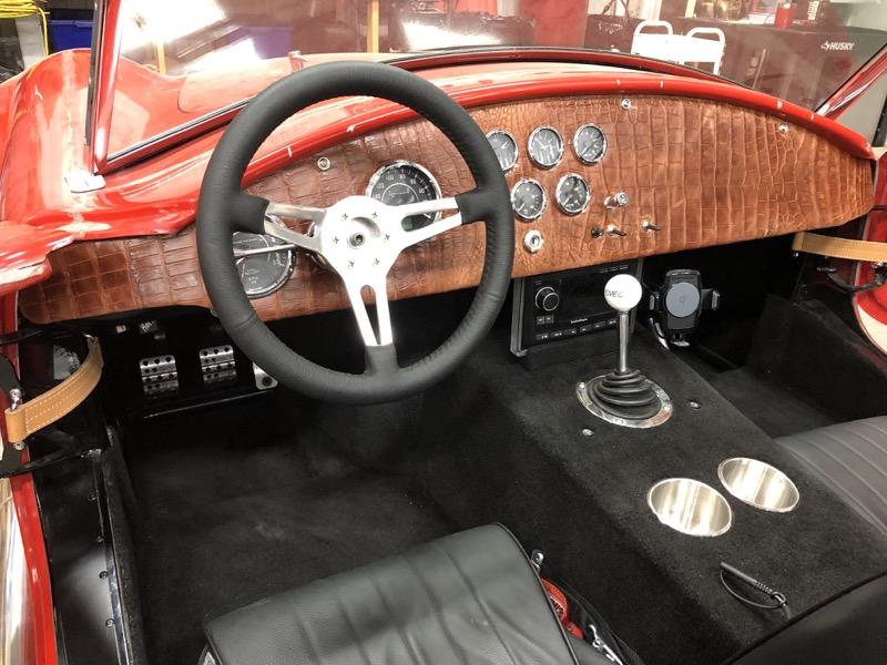 Car Audio and Lighting Upgrades for Factory Five Mk4 Cobra Replica