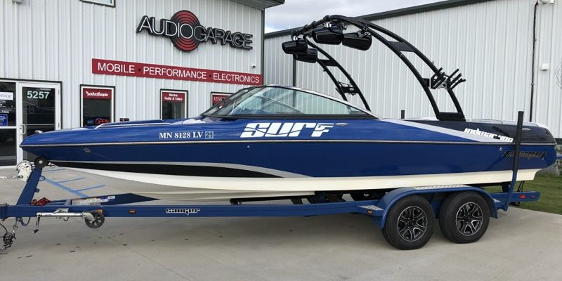 Stereo Upgrade for Sanger 237 Wakeboard Boat