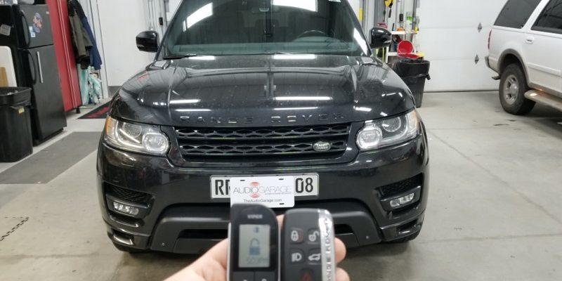 2015 Land Rover Range Rover Sport Gets Viper SmartStart Upgrade