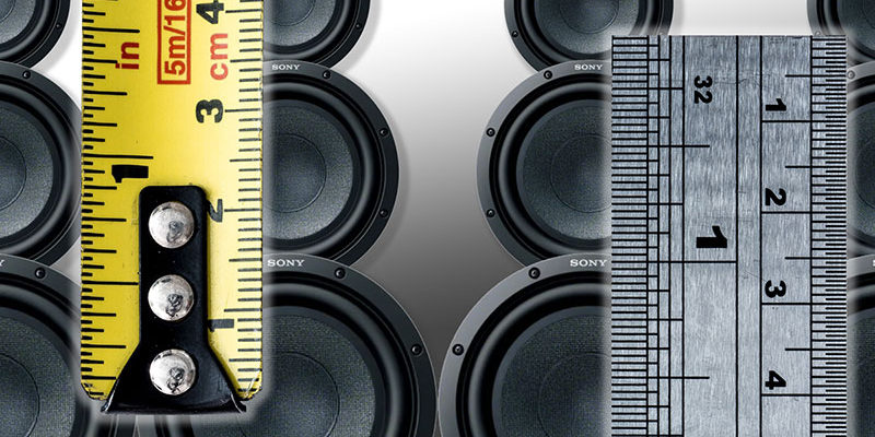 Are Smaller Subwoofers Faster than Large Ones?
